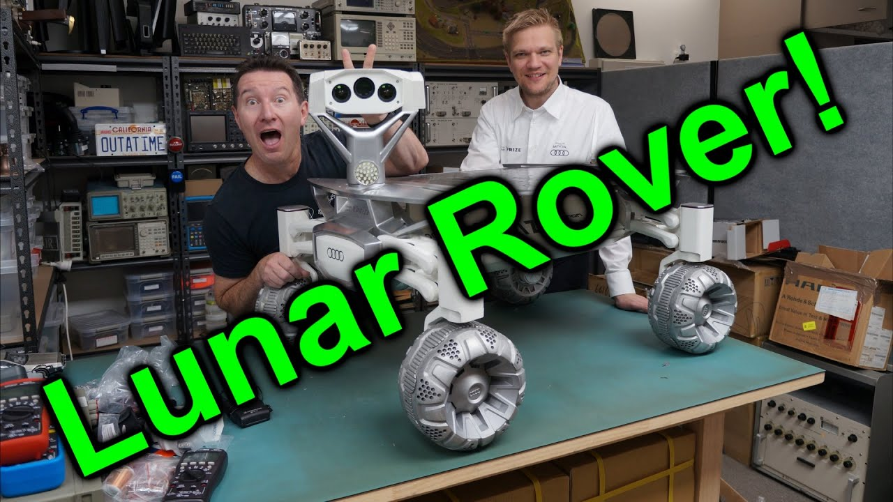 eevblog 886 audi lunar quattro moon rover youtube. Black Bedroom Furniture Sets. Home Design Ideas