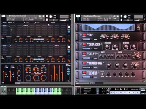 8Dio Blendstrument Motion Textures Reversed