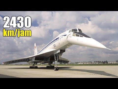 Super Cepat!! Inilah 8 Pesawat Penumpang Tercepat Yang Menyamai Kecepatan Suara