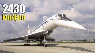 Super Cepat!! Inilah 8 Pesawat Penumpang Tercepat