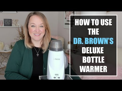 Dr. Brown's Bottle Warmer Review & Tutorial