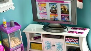 American Girl Music & Movies Entertainment Set! NEW ITEM! HD!