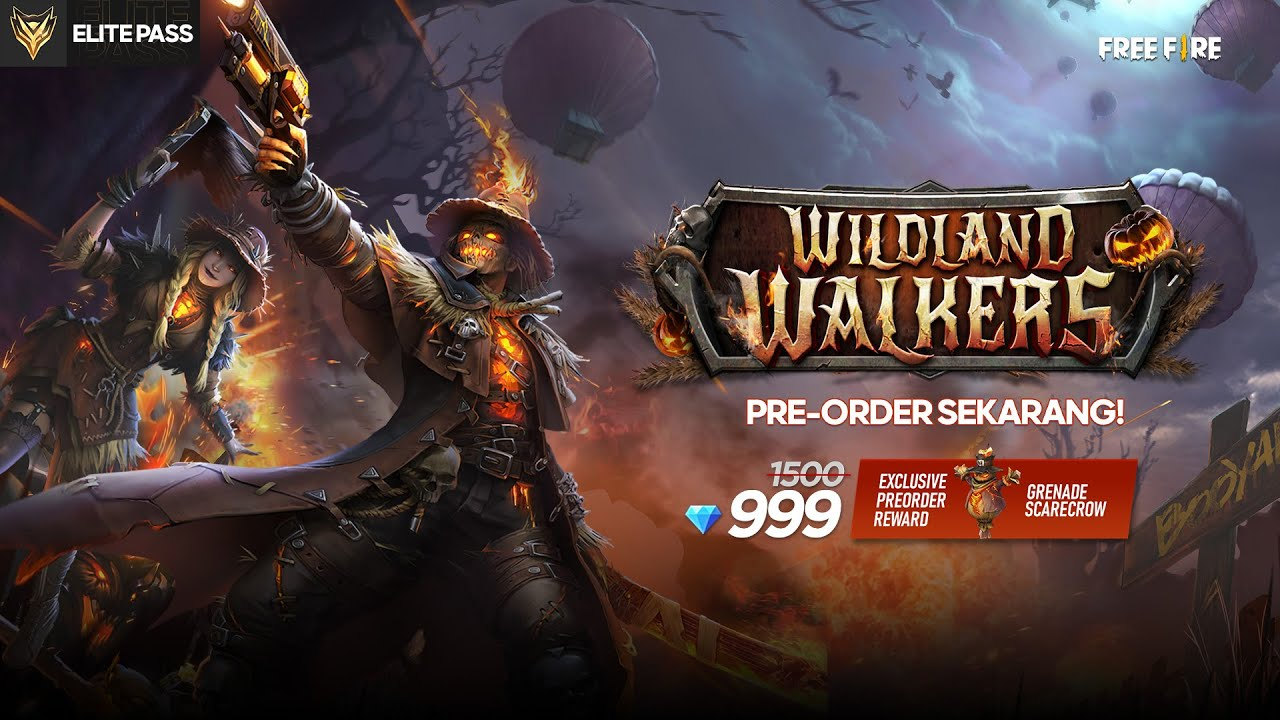 Pre-Order Elite Pass Wildland Walkers sekarang!