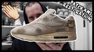 "2015 NIKE AIR MAX 1 PATCH ""SAND"" RESTORATION!"