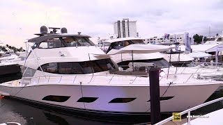2019 Riviera 72 Sports Motor Yacht - Deck and Interior Walkaround - 2018 Fort Lauderdale Boat Show