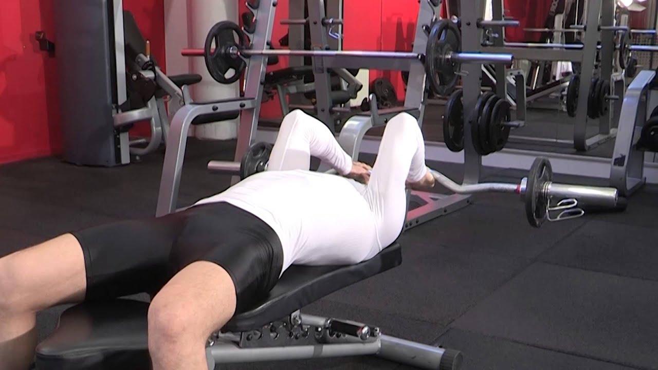 exercice de musculation triceps extension des bras la