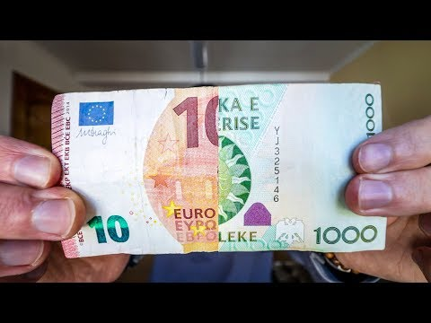 What can I buy for €10 in Albania?