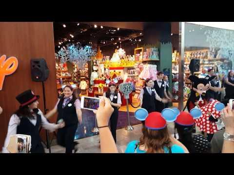 disney store grand opening youtube