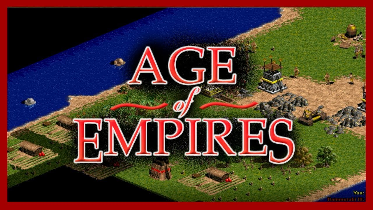 Age Of Empires 1 1997 Original Version Youtube