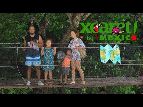 A day at XCARET – Mexico Family Travel 2018