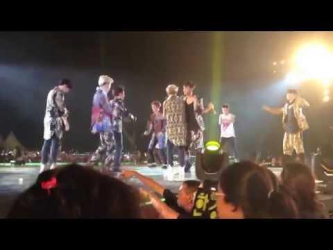 [FANCAM] 140906 EXO The Lost Planet In Jakarta - Dance Battle & XOXO HD