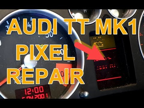 DIY Audi TT MK1 Instrument Cluster Pixel Repair Instructions