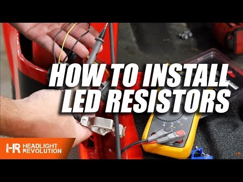 How To Install LED Resistors - Everything You Need To Know | Headlight Revolution
