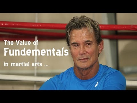 Conversation with Richard Norton about the value of fundamentals in Martial Arts