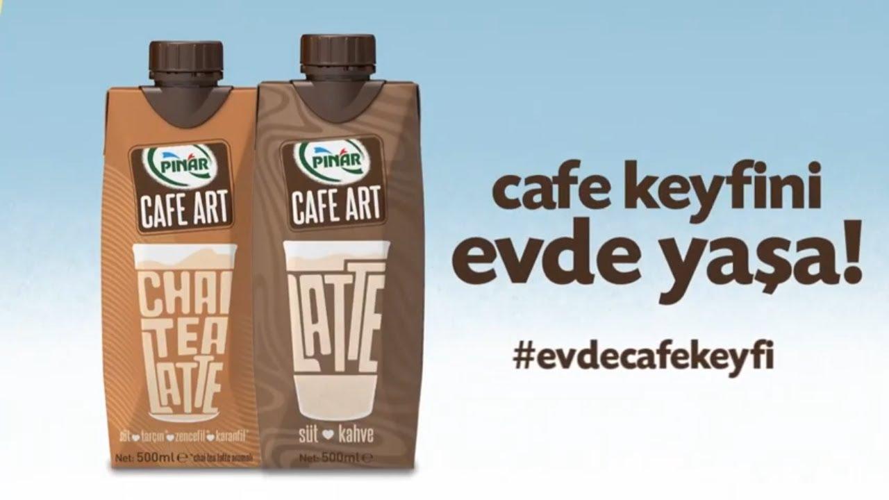 Pınar Cafe Art ile Cafe Keyfini Evde Yaşa! #EvdeCafeKeyfi