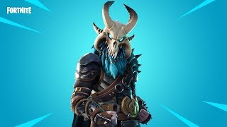 Brincando com a pele RagNarok!! Battle Royale do Fortnite!
