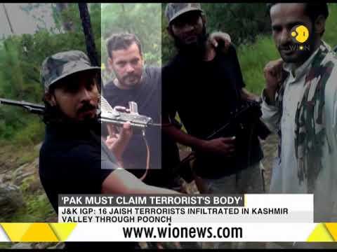 India News: Pak must claim body of Masood Azhar's killed nephew, says IG Kashmir
