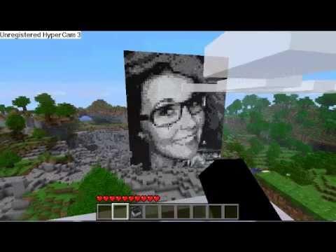 Minecraft Pixel Art Portrait