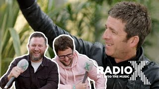 Noel Gallagher on fame, Lewis Capaldi, and expensive mistakes | Live at Heaton Park | Radio X Video