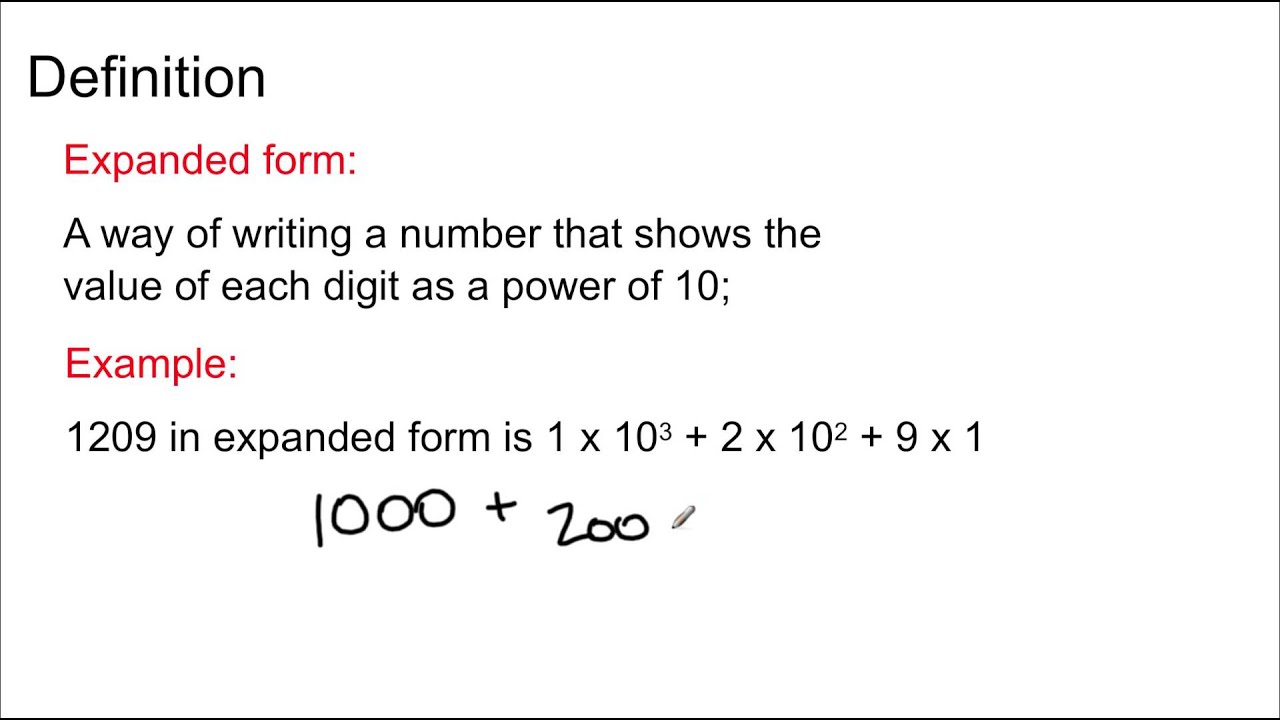 Grade 8 math lesson 15 expanded form and scientific notation grade 8 math lesson 15 expanded form and scientific notation youtube falaconquin