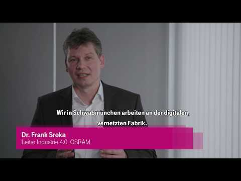 Social Media Post: Telekom und OSRAM starten Campus-Netz