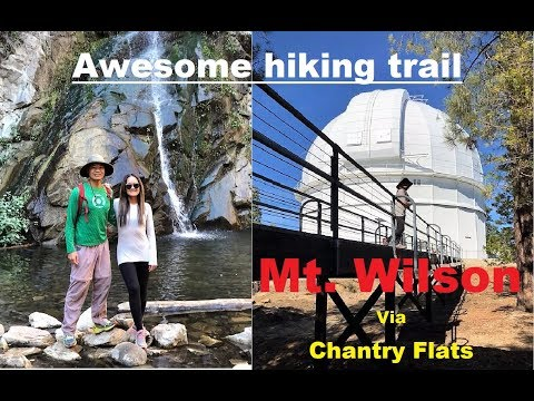 Mt.  Wilson Loop Hike!!  Awesome trail with many Dams!!  Must Watch!!