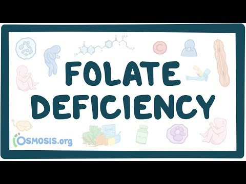 Folate deficiency causes, symptoms, diagnosis, treatment, pathology