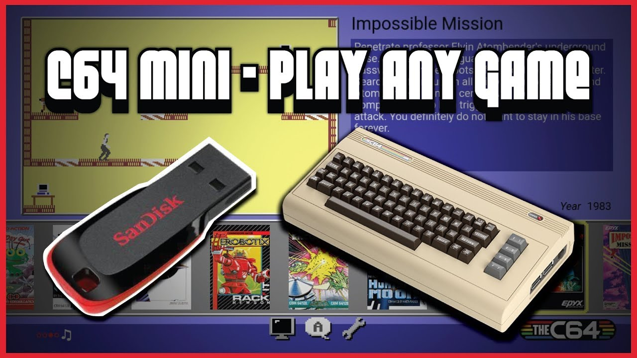 C64 Mini - How To Play Roms (Quick Load)