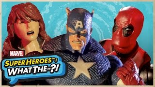 Go Undercover with Captain America in Marvel Super Heroes: What The--?! Episode 31