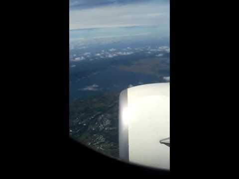 Danau Tondano dari jendela Garuda