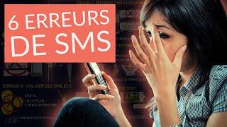 6 erreurs à NE JAMAIS faire quand tu dragues une fille par SMS/Comment draguer une femme par message thumbnail