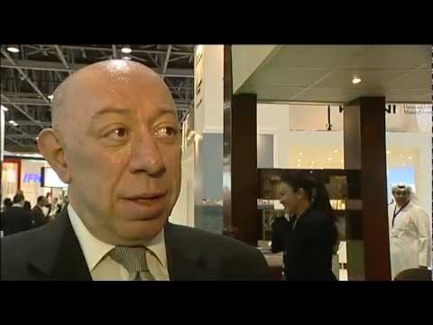 Theirry Berlin, VP Worldwide Sales, Hyatt International @ ATM 2012