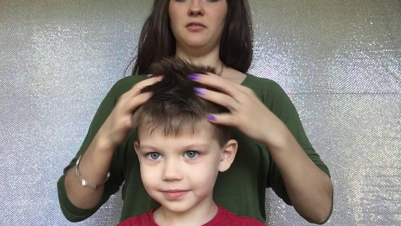 How To Cut Boys Hair With Clippers YouTube - How to cut boys hair