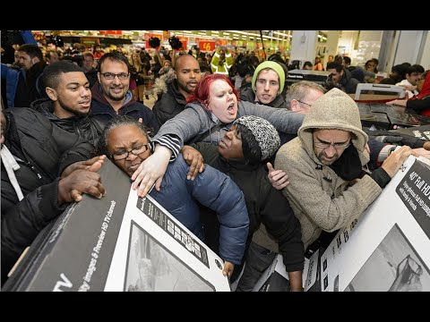 Crazy Black Friday Fights Youtube