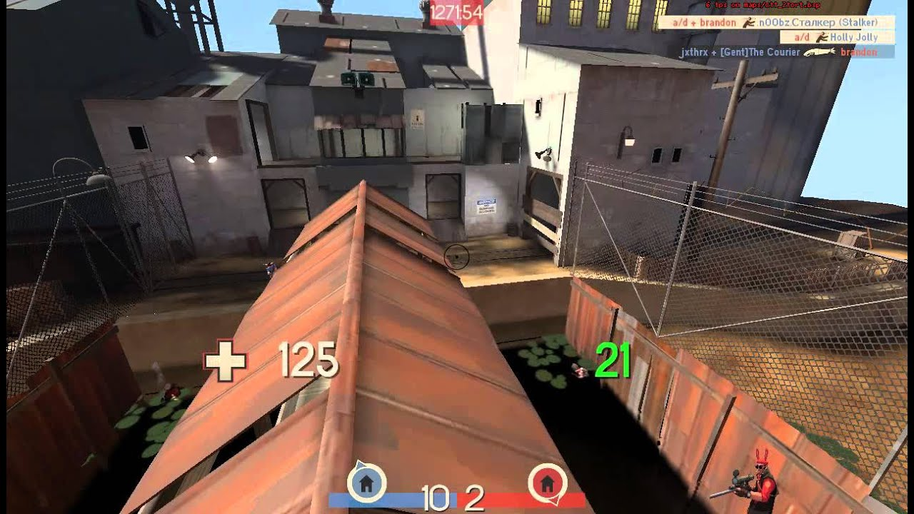 you can't bhop in tf2