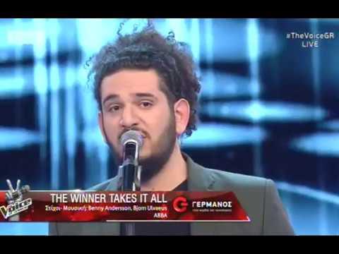 """Γιάννης Μαργάρης: """"The winner takes it all""""  2o    The Voice of Greece"""
