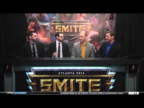 Smite Launch Tournament - Team SoloMid vs. Team Dignitas Grand Final (Day 3)