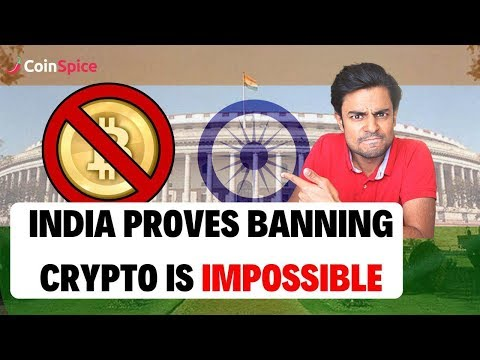India Proves Banning Crypto Is Impossible