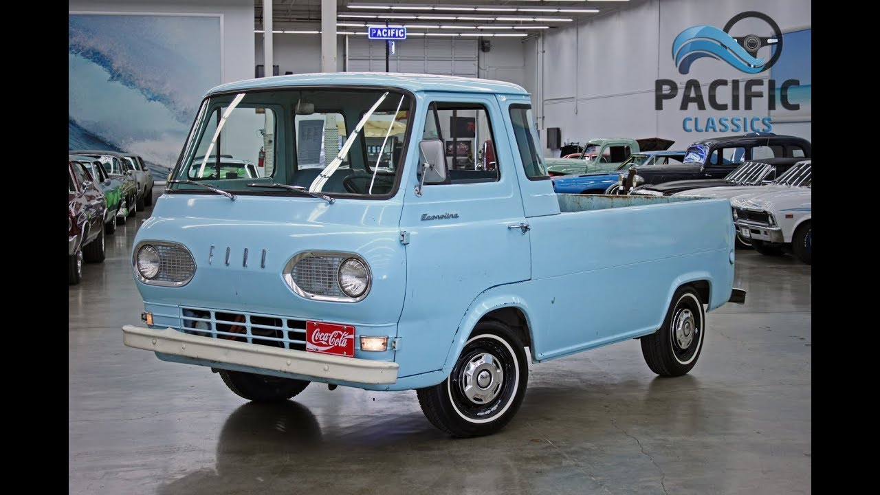 79bb4a58b7 1961 Ford Econoline Pickup. Pacific Classics
