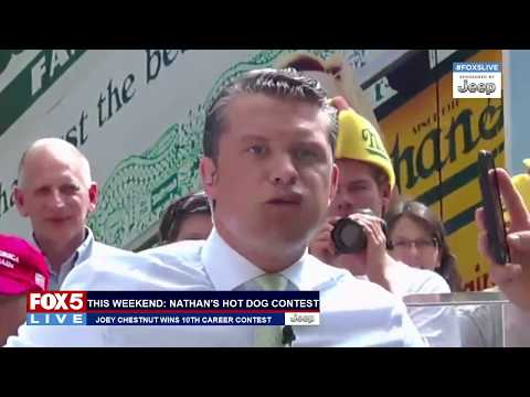 FOX 5 LIVE (7/5): NYPD officer shot; July 4th fireworks recap; Z-Burger eating contest