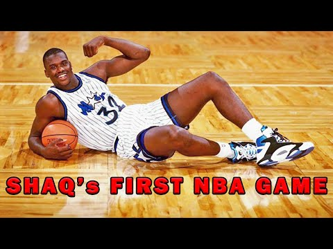 this-happened-on-shaquille-o'neal's-first-game---what-you-missed-about-shaq!