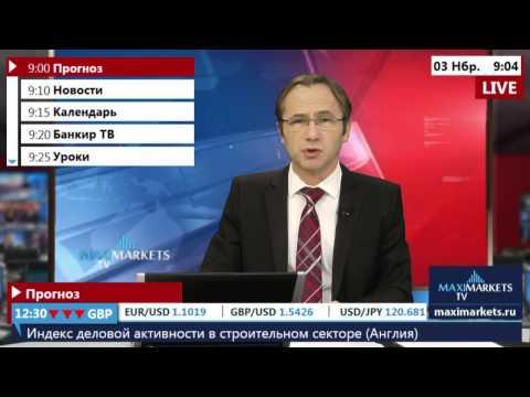 03.11.15 (09:00 MSK) - Прогноз рынка Форекс.