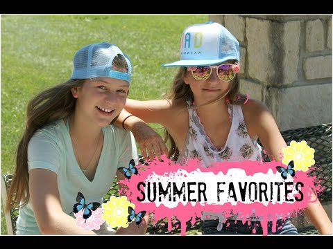 Bella's Summer Favorites 2015  MeCute