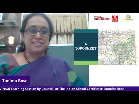 ICSE Geography: Topographical Map
