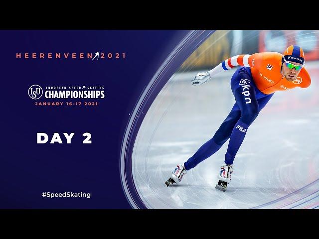 LIVE 🔴   Day 2   ISU European Speed Skating Championships   #EuroSpeed