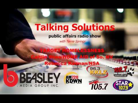 Talking Solutions - Target Homelessness