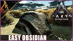Ark Extinction Obsidian Locations