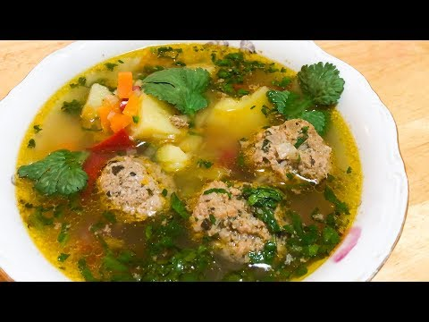 Կոլոլակով ապուր / Суп с фрикадельками