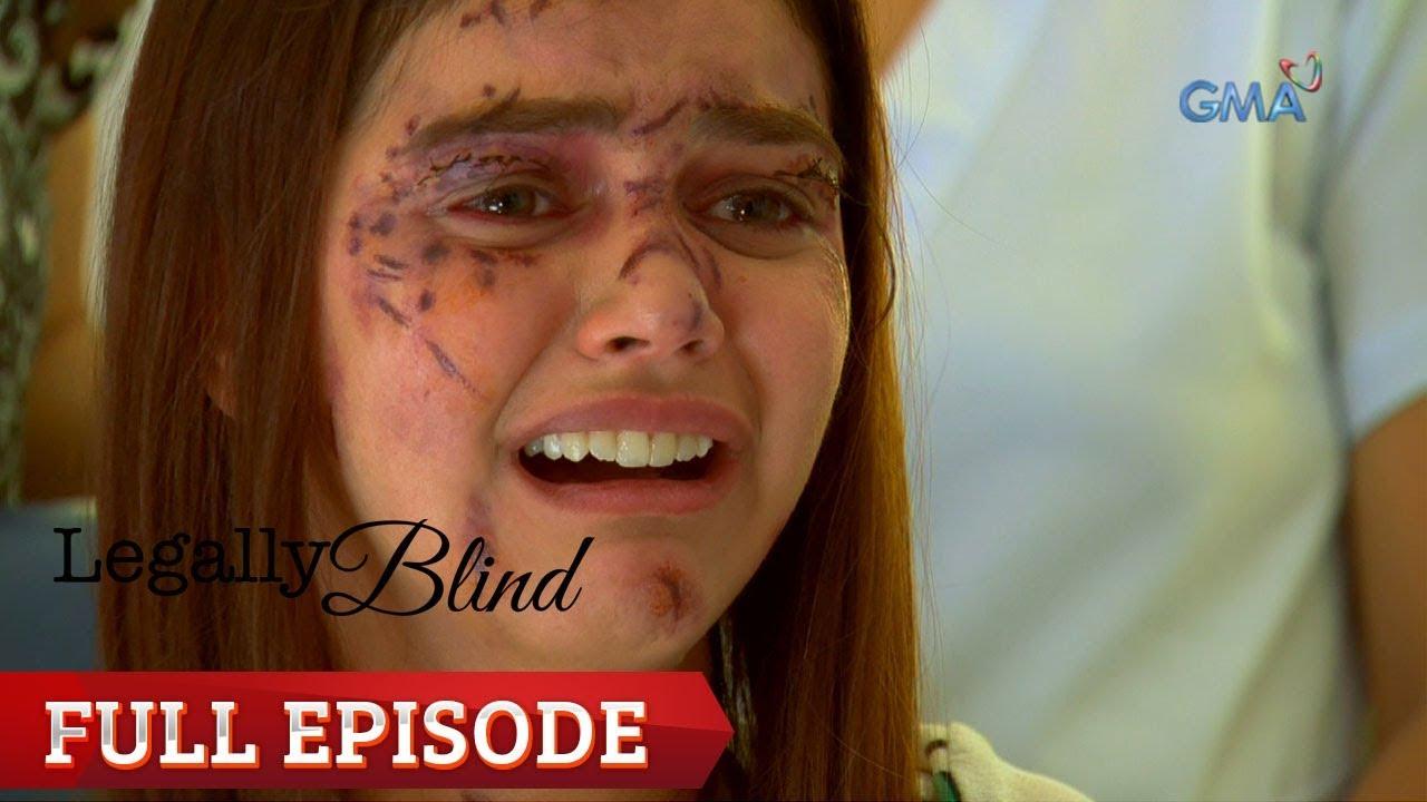 Jemand, der legal blind ist