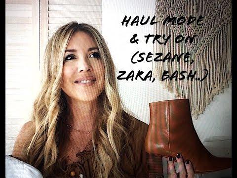 HAUL MODE & TRY ON /FASHION HAUL (Ba&sh, Zara, Sezane, Grain de Malice)